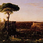Thomas Cole - Italian Scene Composition