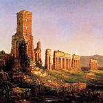Thomas Cole - Aqueduct near Rome