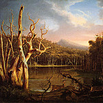 Thomas Cole - Lake with Dead Trees (Catskill) 1825
