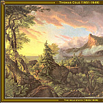 Thomas Cole - The Wild State (1833-36)