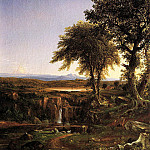 Thomas Cole - Summer Twilight
