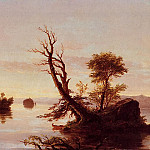 Thomas Cole - American Lake Scene