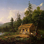 Thomas Cole - Home in the Woods