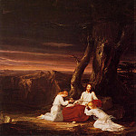 Thomas Cole - Angels Ministering to Christ in the Wilderness