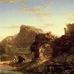 Thomas Cole - L-Allegro (Italian Sunset)