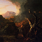 Thomas Cole - Landscape with Dead Tree