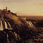 Thomas Cole - The Cascatelli Tivoli Looking Towards Rome