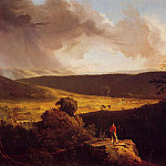 Thomas Cole - View of L-Esperance on the Schoharie River