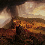 Thomas Cole - Catskill Mountain House The Four Elements