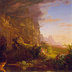 Thomas Cole - The Voyage of Life Childhood