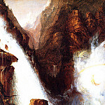 Thomas Cole - Scene from -Manfred-