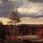 Thomas Cole - Landscape the Seat of Mr. Featherstonhaugh in the Distance 1826