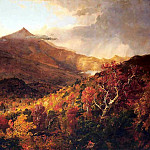 Thomas Cole - schroon mountain adirondacks
