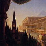 Thomas Cole - The Architect-s Dream