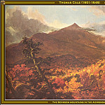 Thomas Cole - The Schroon Mountains(1833)