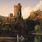 Thomas Cole - Landscape Composition Italian Scenery