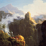Thomas Cole - Landscape Composition Saint John in the Wilderness