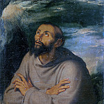 Girolamo Muziano - Saint Francis of Assisi