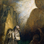 Scarsellino (Ippolito Scarsella) - Saint Francis Receiving the Stigmata