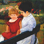 Mary Cassatt - in the park c1894