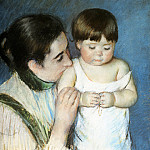 Mary Cassatt - Young Thomas And His Mother
