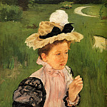 Mary Cassatt - Portrait Of A Young Girl