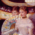 Mary Cassatt - Two Women in a Theater Box
