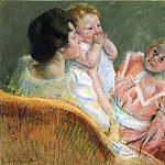 Mary Cassatt - Mother and Children