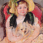 Mary Cassatt - Sara with her dog