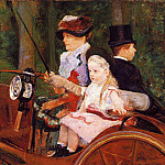 Mary Cassatt - Woman and Child Driving
