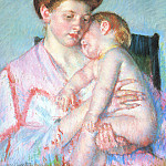 Mary Cassatt - Sleepy Baby