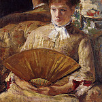 Mary Cassatt - Portrait of a Lady aka Miss Mary Ellison