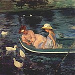 Mary Cassatt - summertime c1894