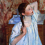 Mary Cassatt - Girl Arranging Her Hair