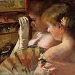 Mary Cassatt - A Corner of the Loge aka In the Box