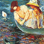 Mary Cassatt - summertime ii c1894