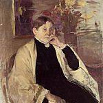 Mary Cassatt - Mrs. Robert S. Cassatt aka Katherine Kelson Johnston Cassatt