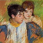 Mary Cassatt - The Two Sisters