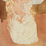 Mary Cassatt - Nude Child