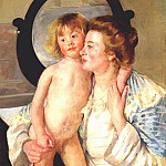 Mary Cassatt - mother and child 1898