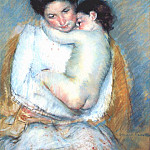 Mary Cassatt - mother and child c1900