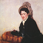 Mary Cassatt - Portrait of a Woman 1878