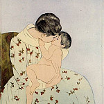 Mary Cassatt - The Kiss