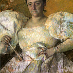 Mary Cassatt - Louisine W Havemeyer