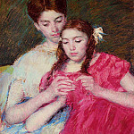Mary Cassatt - The Chrochet Lesson