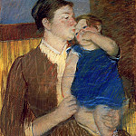 Mary Cassatt - Mother-s Goodnight Kiss