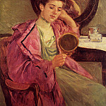 Mary Cassatt - Woman at Her Toilette