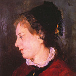 Mary Cassatt - Portrait of Madame Sisley