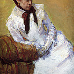 Mary Cassatt - Portrait Of The Artist
