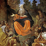 Lorenzo Lotto - Saint Antony Abbas preaches to the hermits